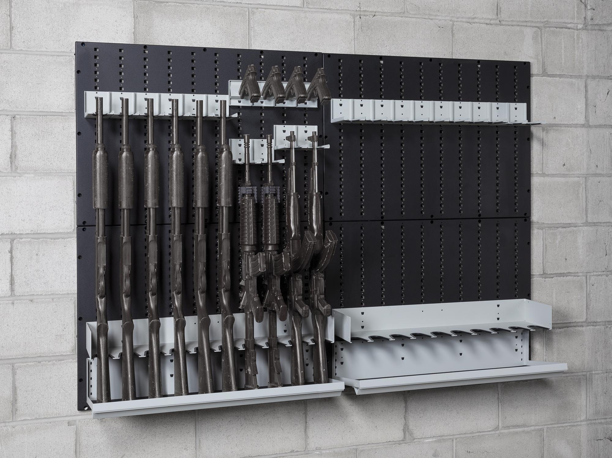 Weapon Wall Panels Lockdsolid Weapon Storage Distribution